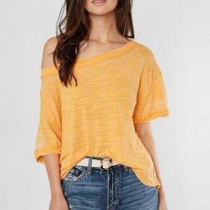 Free People Bright Mango Top. S